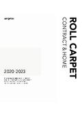 【カタログ】カーペット見本帳「2020-2023 ロールカーペット総合 コントラクト&ホーム」