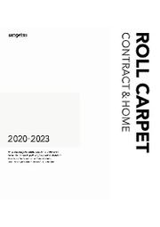 【カタログ】カーペット見本帳「2020-2023 ロールカーペット総合 コントラクト&ホーム」 表紙画像