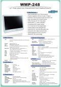 医療用抗菌プラスチック筐体の第4世代Core- i5搭載24型フルHD液晶タッチパネルPC『WMP-248』 表紙画像