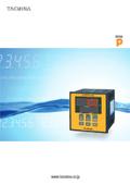 タクミナpH計 製品カタログ 表紙画像