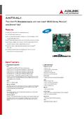 Mini ITX 組込みボード AmITX-AL-I