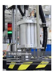英語版総合カタログ『防水D-subコネクタ』 表紙画像