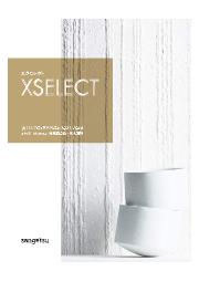 【カタログ】素材系壁紙・輸入壁紙 見本帳『XSELECT』 2021-2024 表紙画像