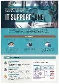 ヘルプデスクサポート『IT SUPPORT +ONE』