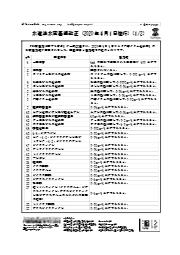 水道法水質基準改正(2020 年4 月1 日施行) 表紙画像
