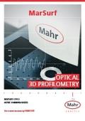 【製品カタログ】光学式 3D表面形状測定機『MarSurf CP/CL』 表紙画像