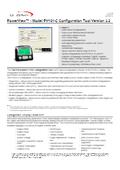 PV101用コンフィグレーションツール 表紙画像