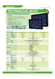 18.5インチパネルPC【AFL3-W19C-ULT5】 表紙画像