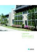 登はんネット一体型壁面緑化資材『ラピュタ・グリーンウォールL』