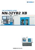 CNC自動旋盤『NN-32YB2 XB』 表紙画像