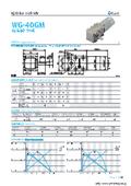 ウォームギアモータ『WG-40GM-01TYPE&02TYPE』 表紙画像