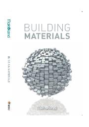 BUILDING MATERIALS 表紙画像