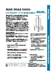 サニタリーレギュレーター、MK96AAシリーズ 表紙画像