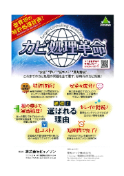 カビ対策『カビ処理革命』 表紙画像