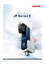 エレクトロプレス JPシリーズ5:蛇の目ミシン工業 表紙画像