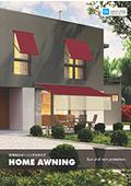 住宅向けオーニング 総合カタログ 『HOME AWNING』