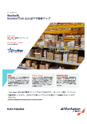 倉庫管理 事例紹介 米国BlueStar社 表紙画像