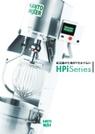 縦型ミキサー HPiシリーズ スタンダードモデル 表紙画像