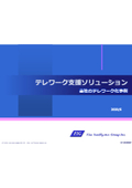 テレワーク支援ソリューション【問題点と対策を掲載した資料】