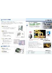 複雑な工場・既存プラント設備をCADデータ化する3次元計測サービス 表紙画像