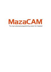対話式プログラム作成・変換ソフト「MazaCAM」 表紙画像