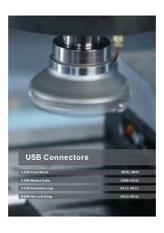 英語版総合カタログ『防水USBコネクタ』 表紙画像