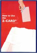 折り畳み式の情報ツール『Z-CARD』