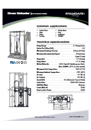 サニタリー ドラムアンローダー(ピストンポンプ式) SPTSU6PPNIW 表紙画像