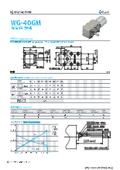 ウォームギアモータ『WG-40GM-41TYPE&42TYPE』 表紙画像