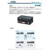USB DVI HDBaseT ミニKVM エクステンダー (1920×1200@100 m) CE611 表紙画像