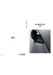 家具 総合カタログ「MK COLLECTION CATAROGUE -Vol.01-」 表紙画像