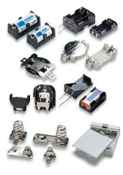 タカチ電機工業 電池ホルダー・電池ボックス・電池バネ端子 総合カタログ 表紙画像