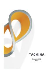 株式会社タクミナ 会社案内 表紙画像