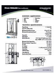 サニタリー ドラムアンローダー(ピストンポンプ式) SPTSU5DBNIS 表紙画像