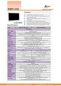 医療用の抗菌プラスチック筐体24型Intel第9世代Core-i搭載タッチパネルPC『WMP-24K』 表紙画像
