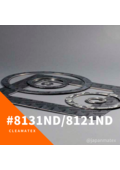 固着抑制膨張黒鉛ガスケット Cleamatex 8121ND・8131ND  表紙画像