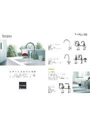 SUS304 ステンレス製水栓金具『fusion/フュージョン』 表紙画像