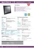 15型第6世代Core-i5-6200U-2.3GHz CPU搭載の高性能ファンレス・タッチパネルPC『WLP-7F20-15』 表紙画像