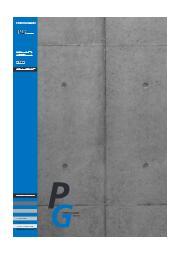 コンクリート表面保護システム『ポルトガードPGシステム』 表紙画像