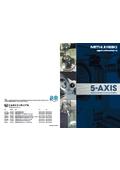 5軸マシニングセンタシリーズ『5-AXIS』製品カタログ 表紙画像