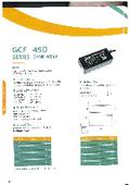 【英語版】ACアダプター『GCF 45D シリーズ 24W-45W』