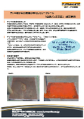 【事例紹介資料】タンクルーフリペア『樹脂パッチ工法』