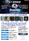 ディープラーニング画像検査『DeepSky(ディープスカイ)』