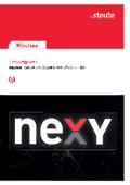製造・物流現場向け IoTシステムソリューション『nexy』カタログ