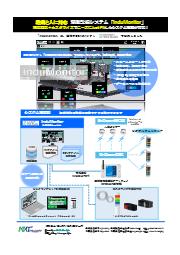 設備と人に対応した設備稼働監視システム『InduMonitor』標準機能+カスタマイズでニーズにJust Fitしたシステム構築 表紙画像