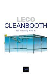 お客様ご自身が簡単に設計・施工できる レコ クリーンブース 表紙画像