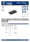 P-DUKE【MPD30】医療用(2MOPP) 高絶縁耐圧 30W DC/DCモジュール 表紙画像