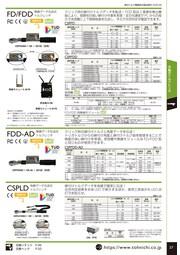 トルク・角度データ伝送クリック式デジタルトルクレンチFDD-AD 表紙画像