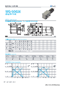 ウォームギアモータ『WG-50GM-03TYPE&04TYPE』 表紙画像