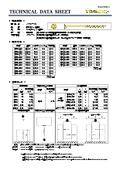 テクニカルデータシート(パネリードS) 表紙画像